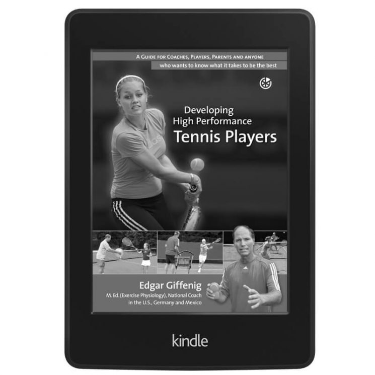 Developing High Performance Tennis Players (Kindle)