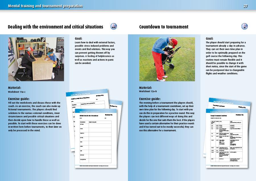 Mental Training for Your Best Golf Game   Neuer Sportverlag